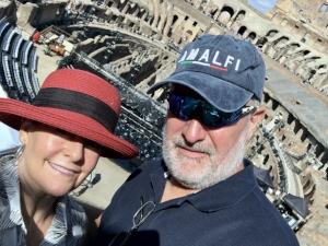 Mandatory Colosseum selfie