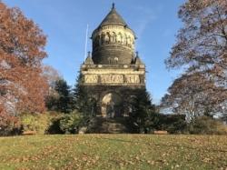 President Garfield's tomb