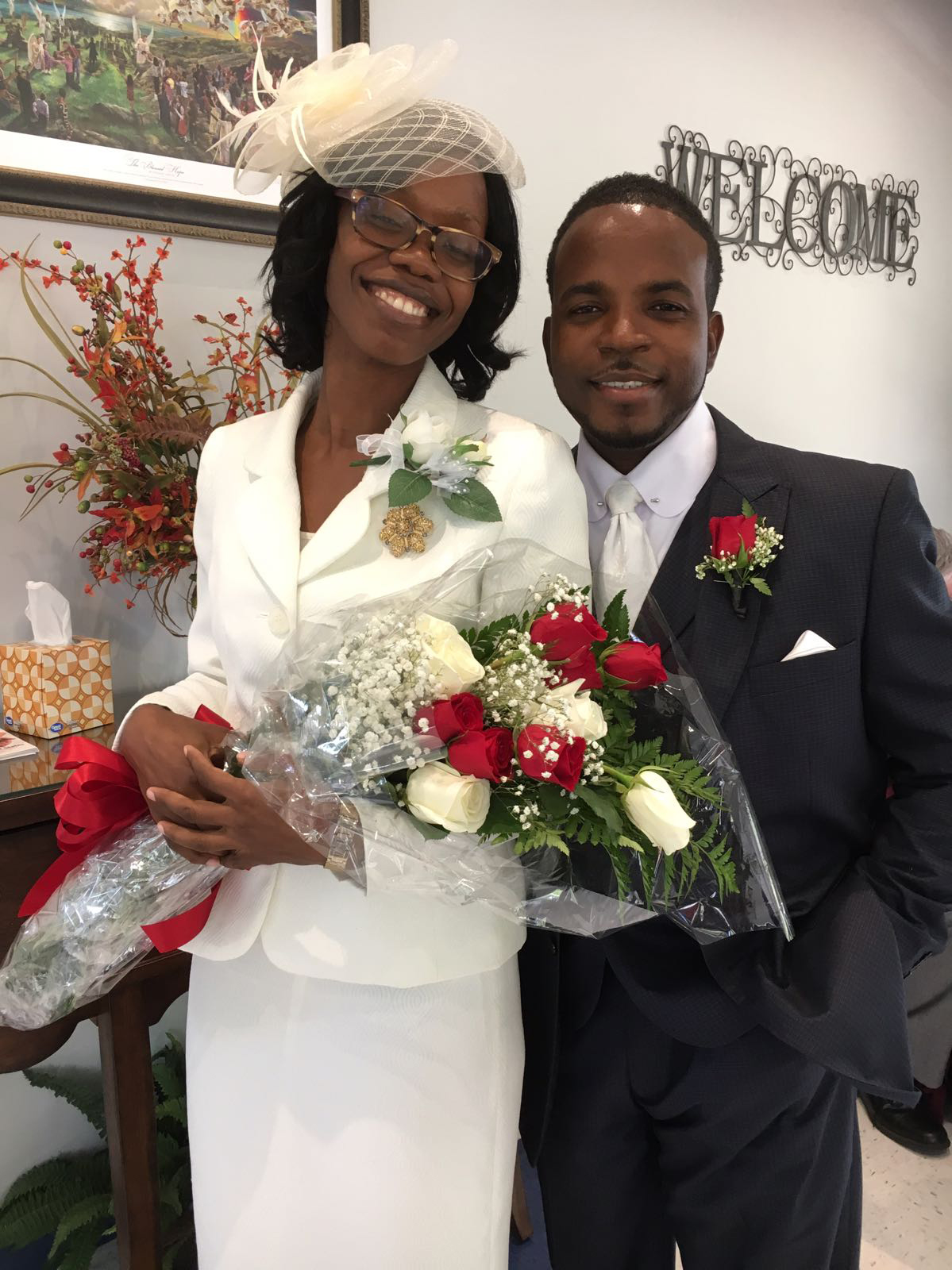 Claudine and Christopher Atkinson