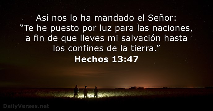 Hechos 13:47