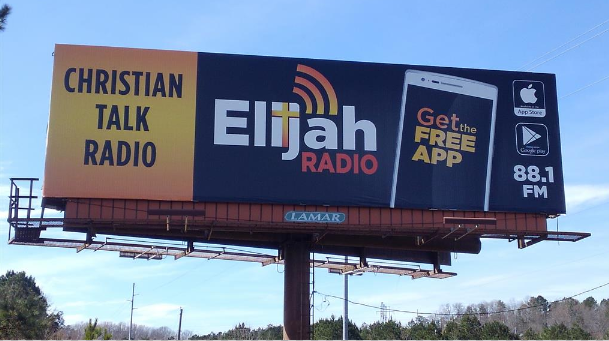 One of two billboards in the Birmingham area, this advertisement is located on I-459 and will be on display through 2019.
