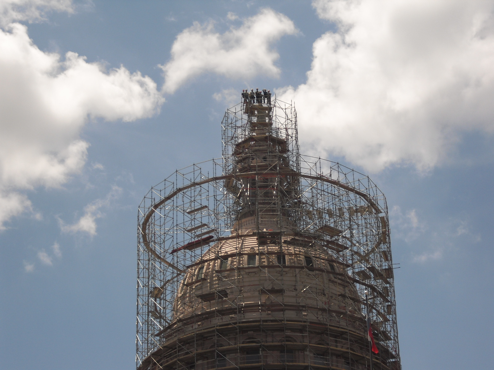 Texas State Capitol Dome Restoration