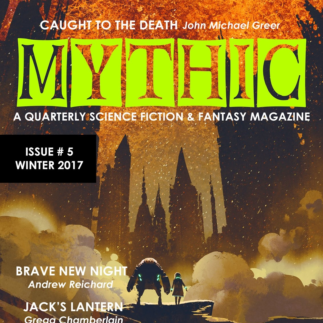 """""""A Phase Transition"""" in  Mythic Magazine (Issue #5)"""