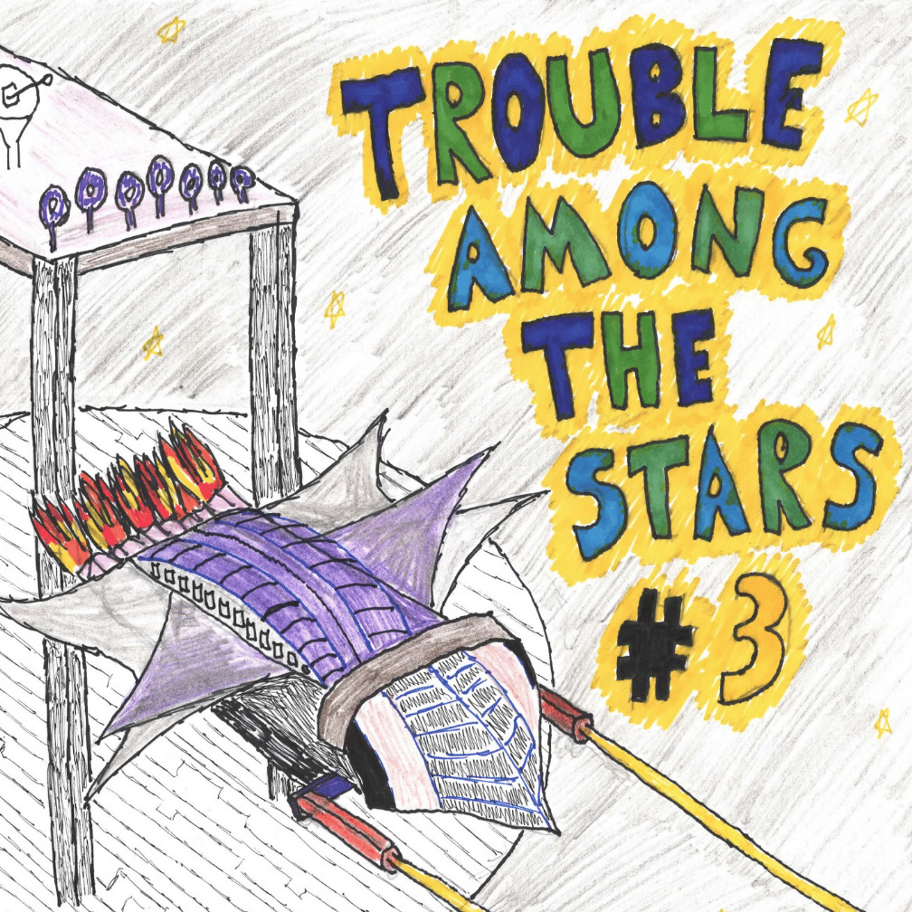 """""""Invite You Back After the Show"""" in  Trouble Among the Stars   #3"""