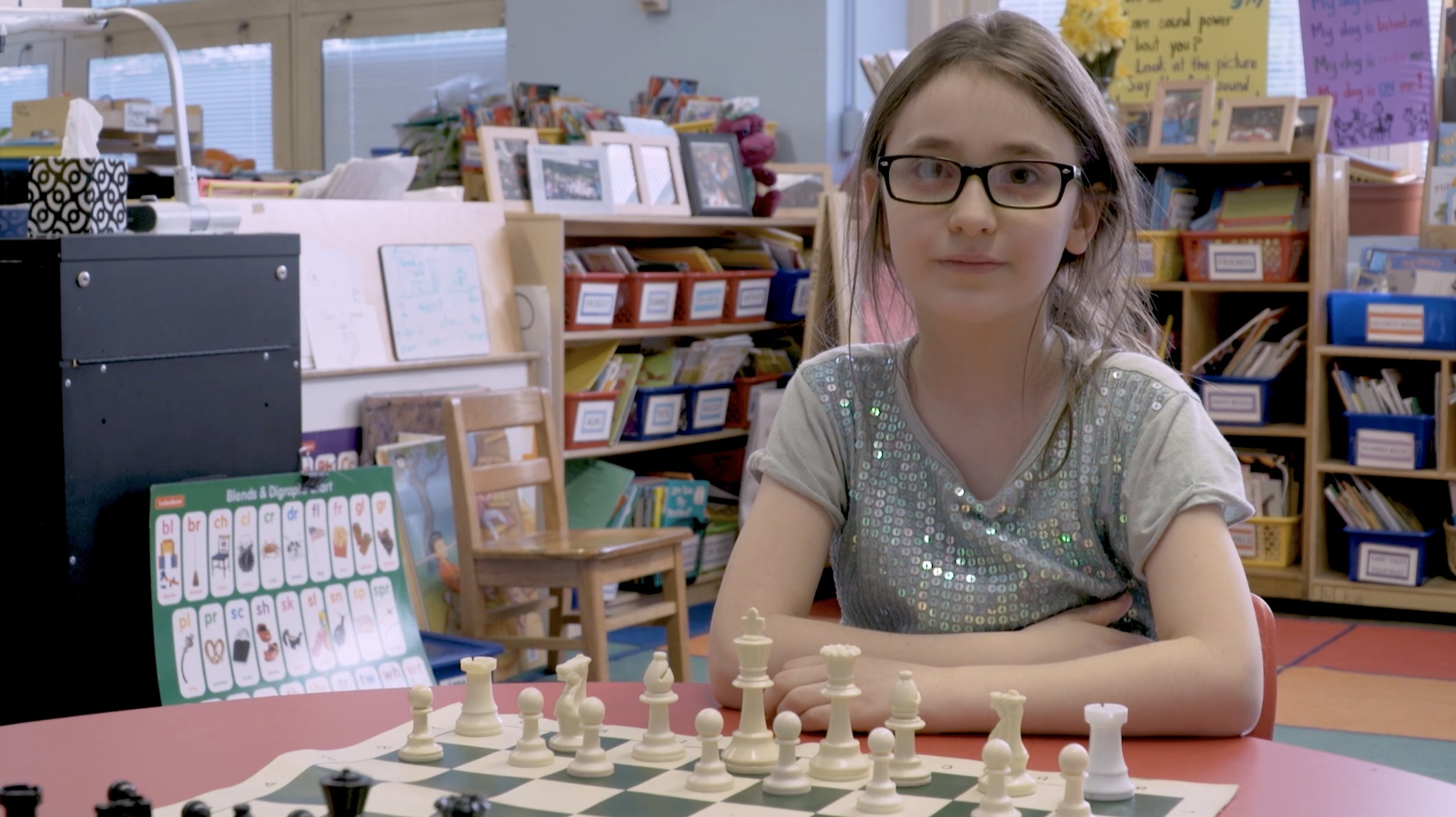 Chelsea Prep Girls Chess Team -  Her Move Next   People's Choice Award