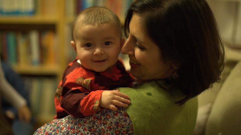 Nazanin Zaghari-Ratcliffe and her daughter, Gabriella