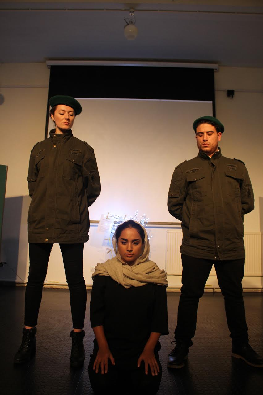 Image from the play,  Nazanin's Story .