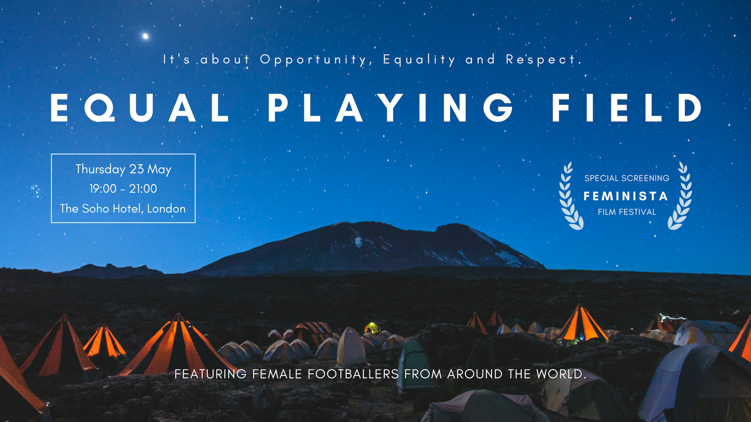 EQUAL PLAYING FIELD - FEMINISTA FILM FESTIVAL SPECIAL SCREENING