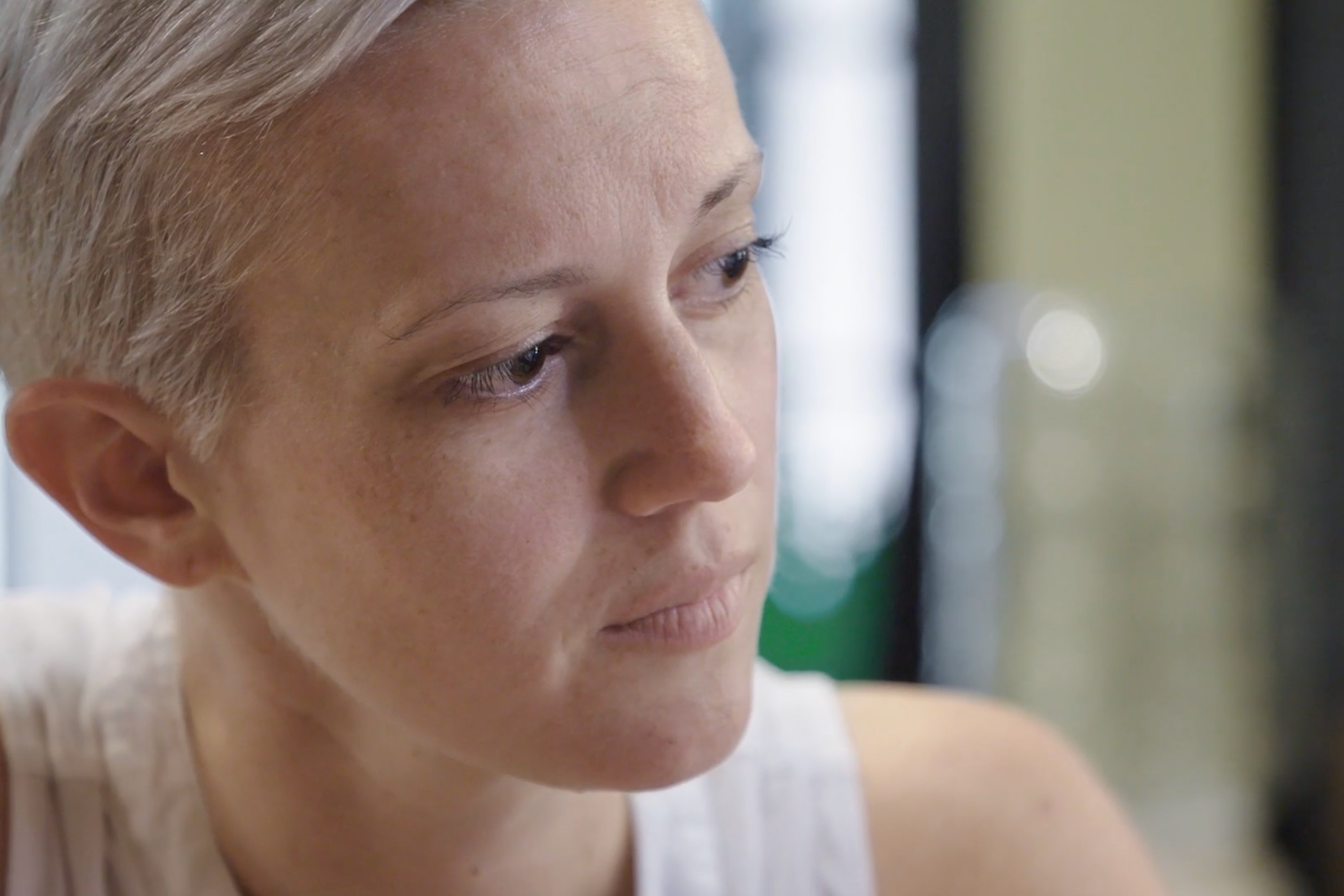 Grace - Captures the journey of a 36-year-old suburban soccer mom and breast cancer survivor who decides to reclaim her body by covering her mastectomy scars with an elaborate tattoo. Directed by a recent breast cancer survivor and created by an all-female crew.Run time: 16 minutesDirector: Rachel Pikelny