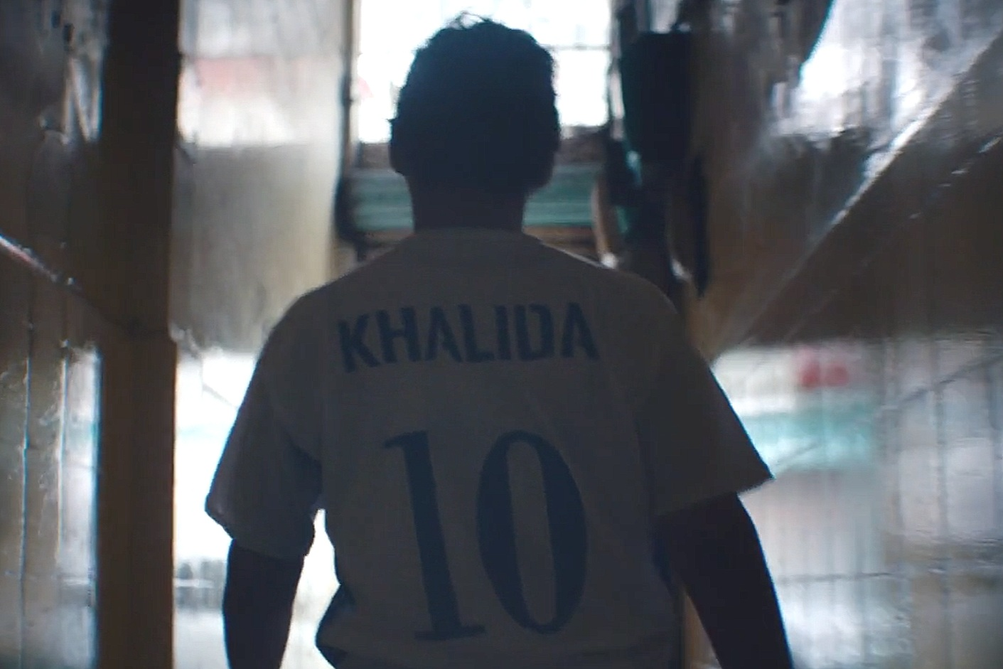 Right to Play - Khalida and her mother stood together in the wake of the Taliban regime, where women were not allowed to play sports. They went on to establish the first Afghan womens national football team.Run time: 1 minute 52 secondsDirector: Nina Holmgren