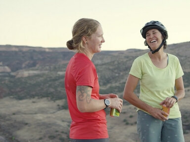"""Life of Pie - Singletrack shredders and pizza chefs Jen Zeuner and Anne Keller have transformed their town into a mountain biking hotspot with their Hot Tomato Café. It wasn't easy at first — some conservative residents weren't quite ready for their """"lifestyle."""" But they are now indispensable members of the community.Run time: 11 minutes 25 secondsCreated by: Felt Soul Media"""