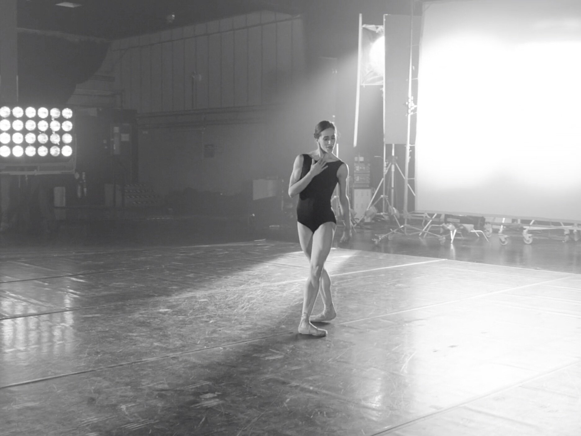 Nela - A strikingly intimate study of the great classical ballerina Marianela Nuñez as she dances to Nina Simone, choreographed by Will Tuckett.Run time: 3 minutes 26 secondsDirector: Andrew Margetson