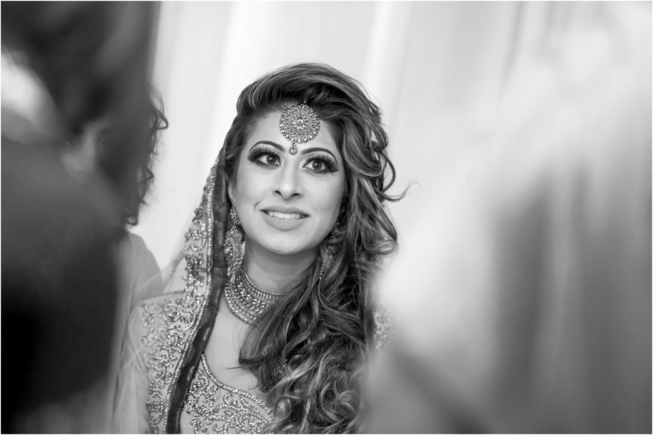 Beautiful shot of bride at Nikaah - Chak 89 in 2016