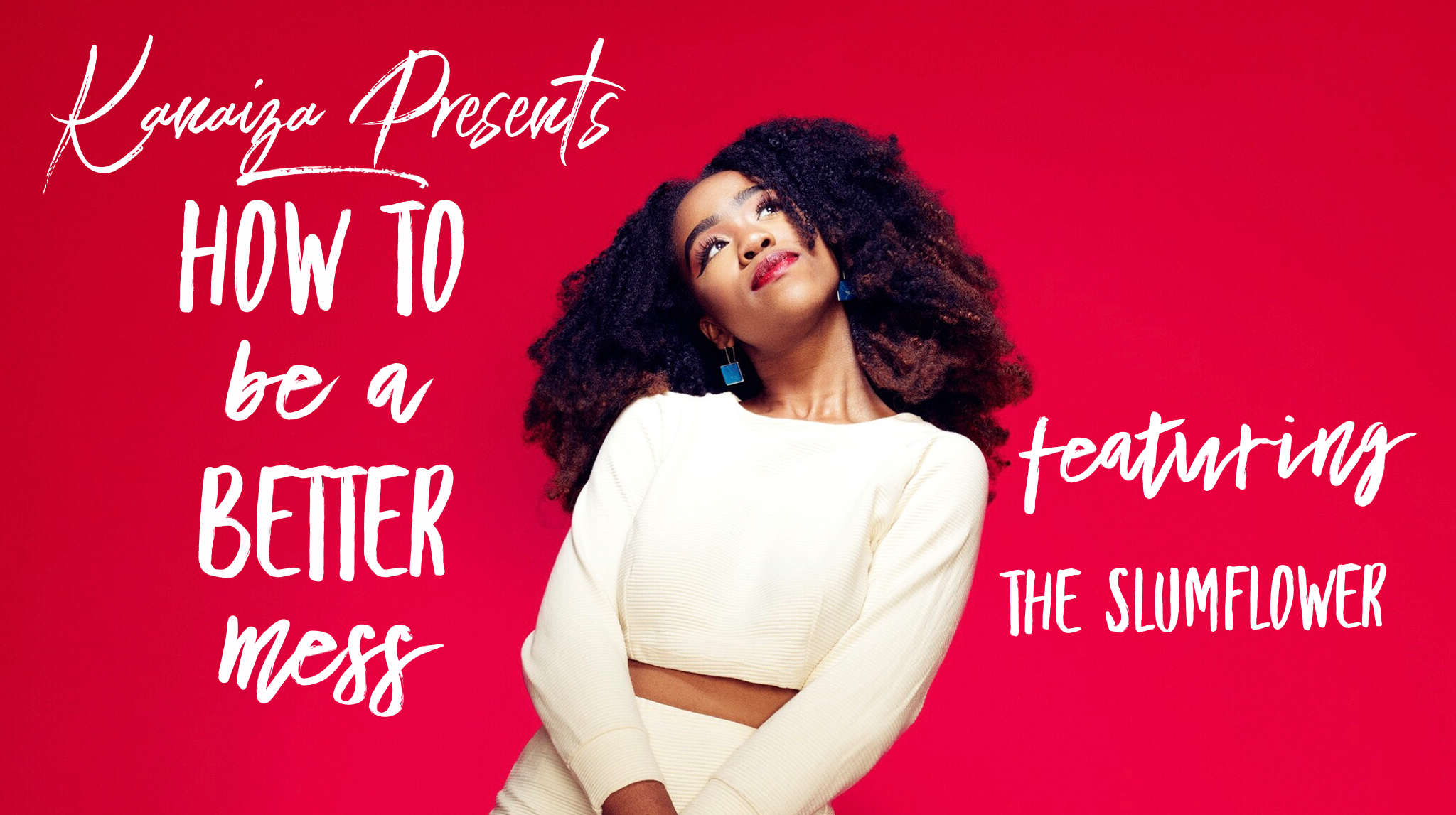 Join us  on thursday 30th august  @southplacehotel  as we explore how to be a better mess with  @theslumflower