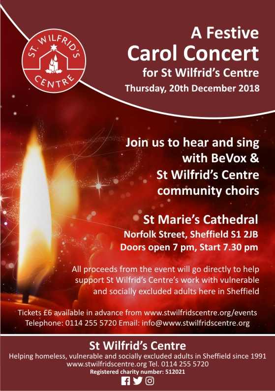 St Wilfrid's Centre Christmas flyer candle. jpg