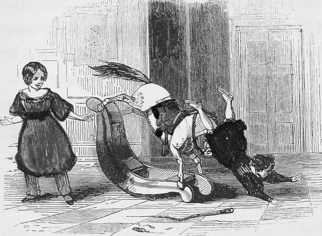 Image from  The child's own story book; or, Tales and dialogues for the nursery (1849)