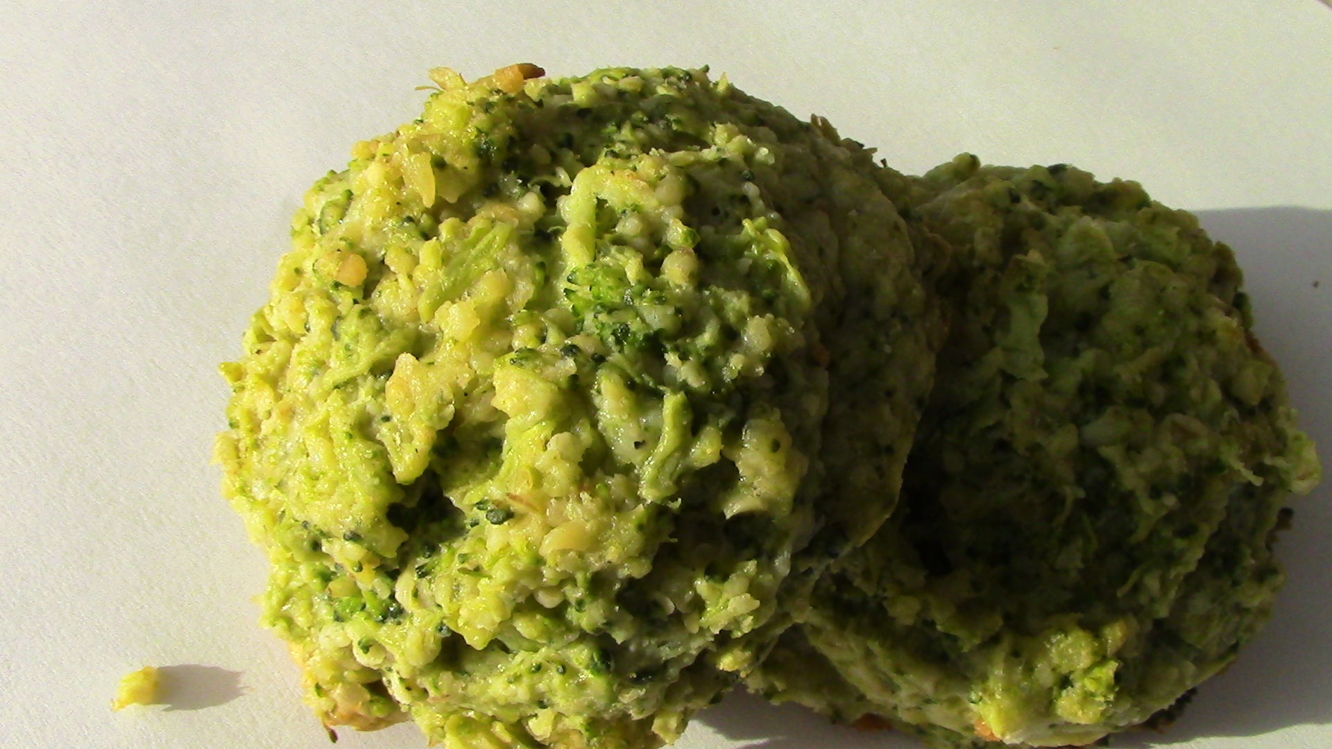 HFFG's Cheesy Broccoli Bites (Gluten-Free w/ Grain-Free Option) Recipe