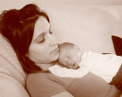 (Me with baby #5)
