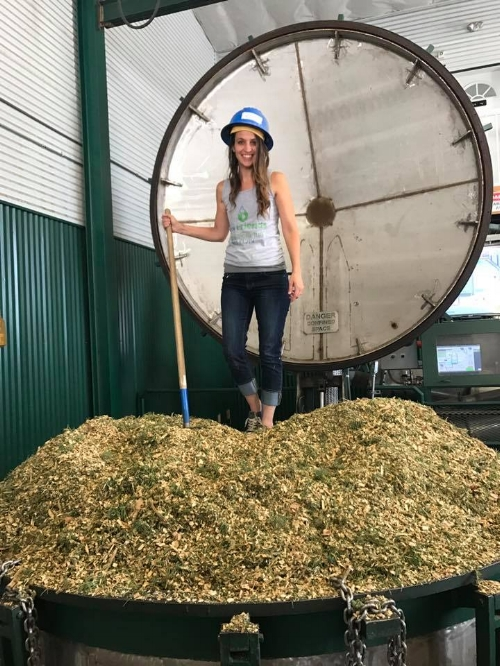 Being a part of the fir distillation at the Highland Flats farm was incredible! We also toured the lab, checked out the files with lab test results, and rolled around on the huge aromatic woodchip piles.