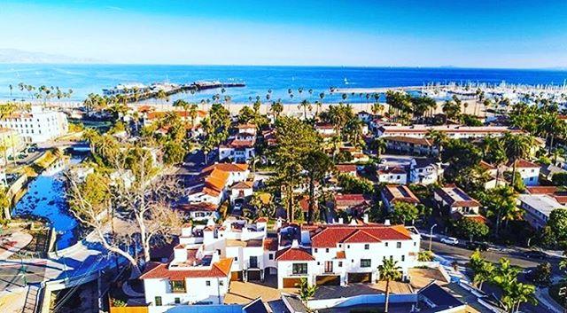Oh Santa Barbara...you're a looker.