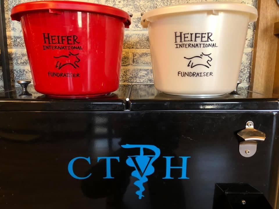 CTVH chose to donate to Heifer International for a Christmas fundraiser.