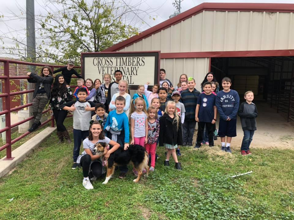 """REACH Homeschool Co-op came to CTVH for a behind the scenes tour as part of their """"community helpers"""" theme for this year."""