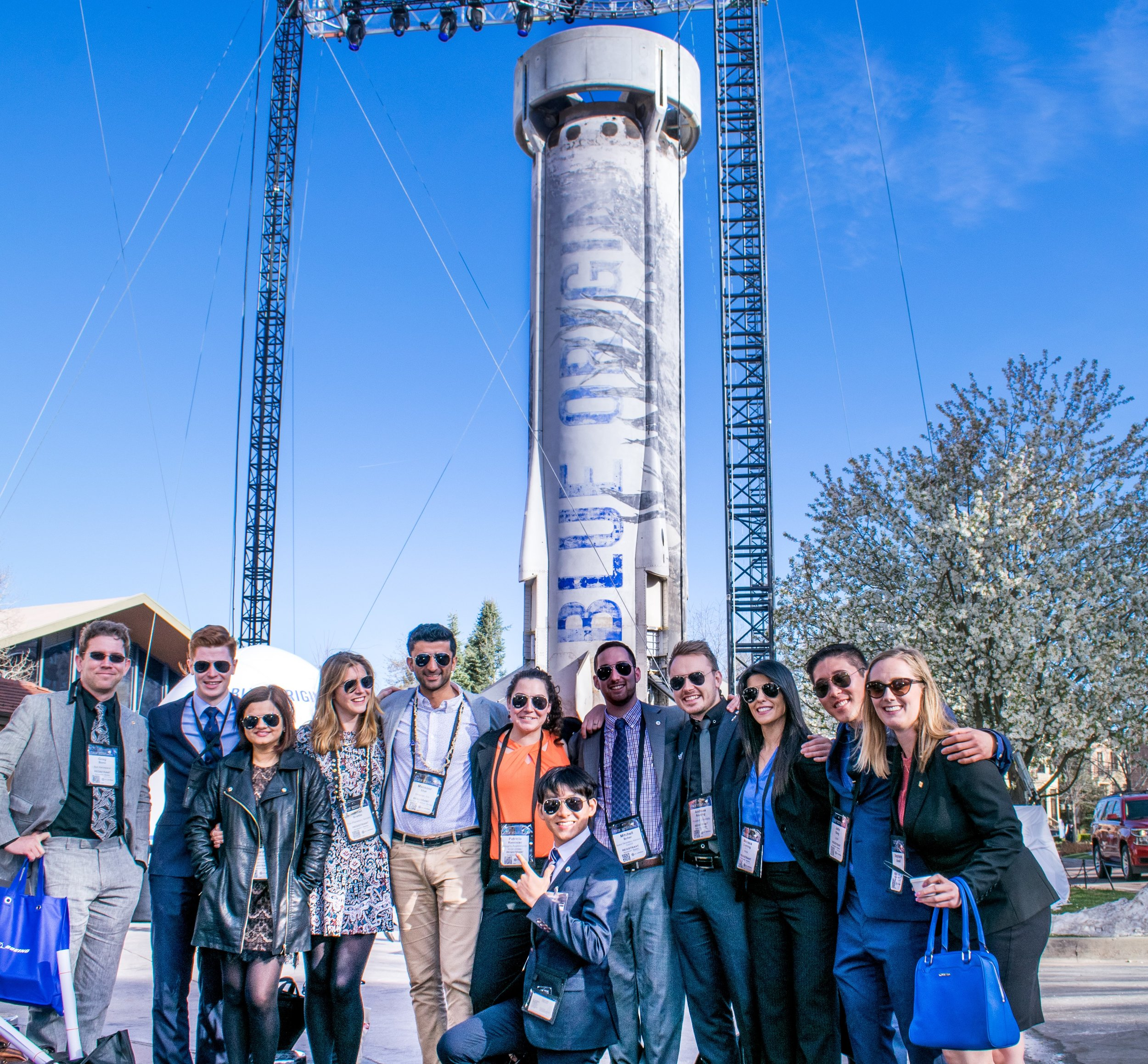 Space Generation Advisory Council members at the 33rd Space Symposium