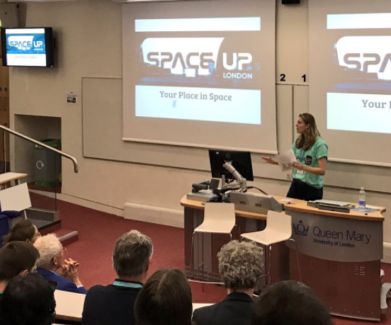 Host of SpaceUp London 2017