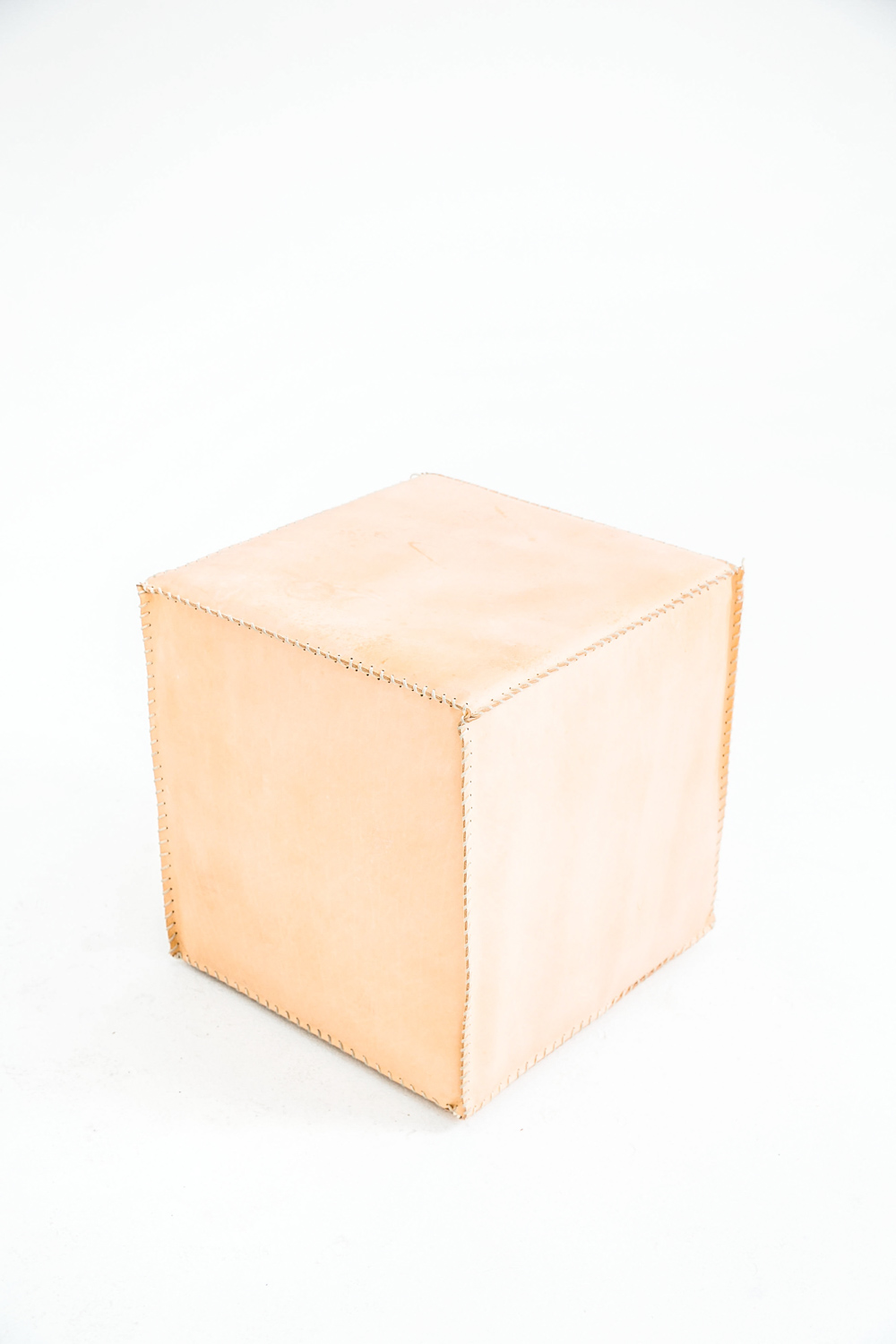 Leather Cube