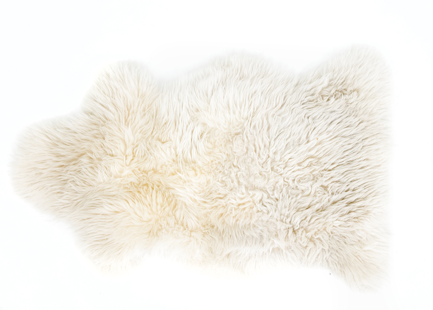 Small Sheepskin Throw