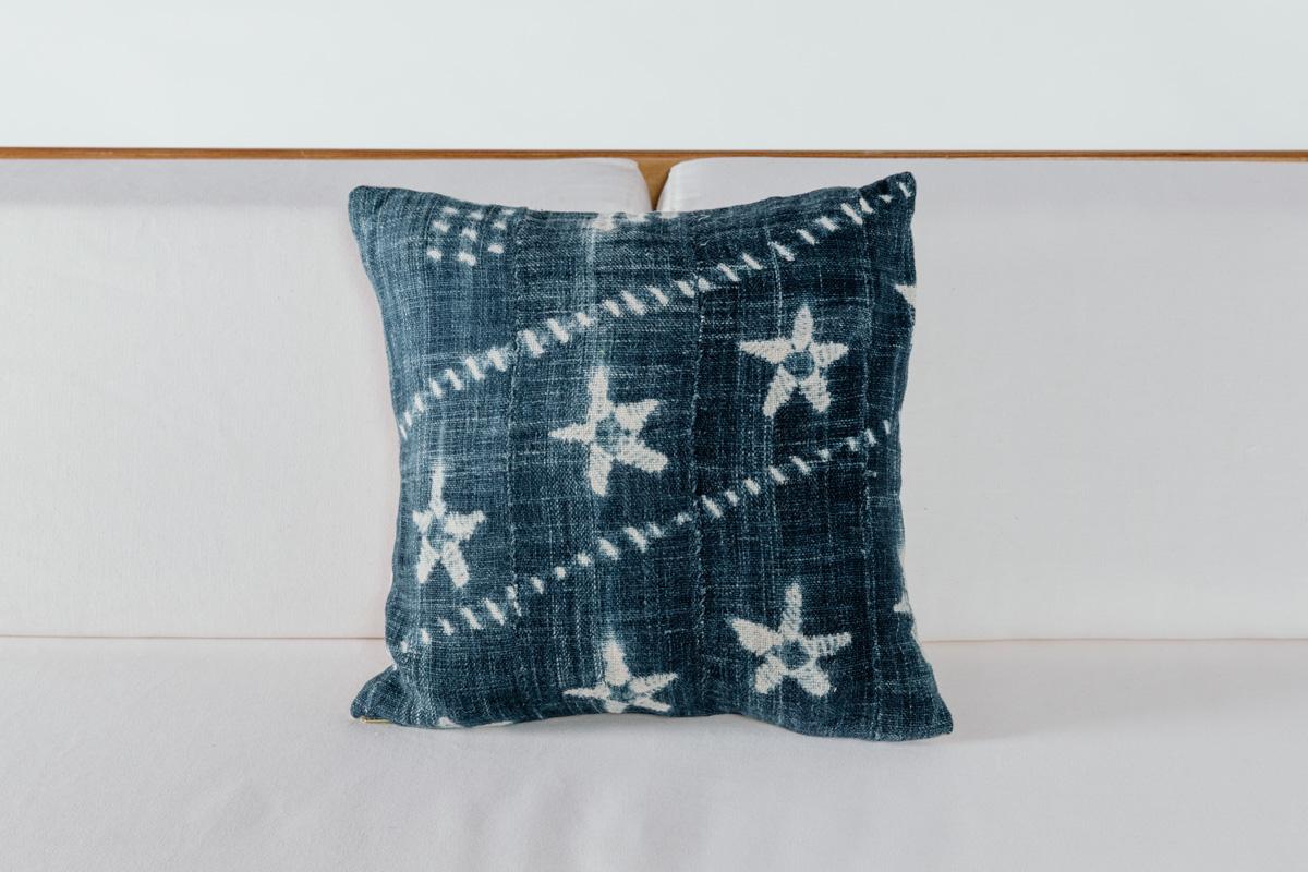 Starfish Shibori Pillow