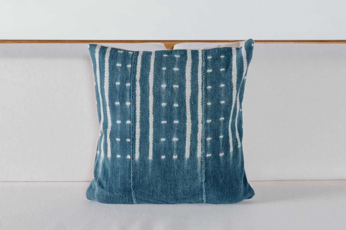 Pintuck Shibori Pillow