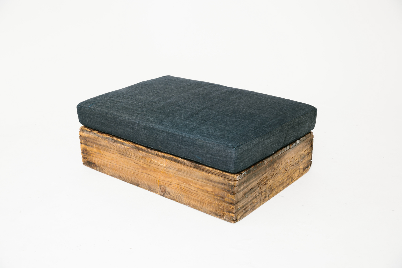 Denim Box Seat