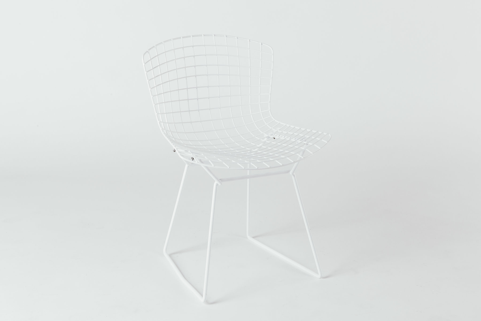Knoll Bertoia White on White
