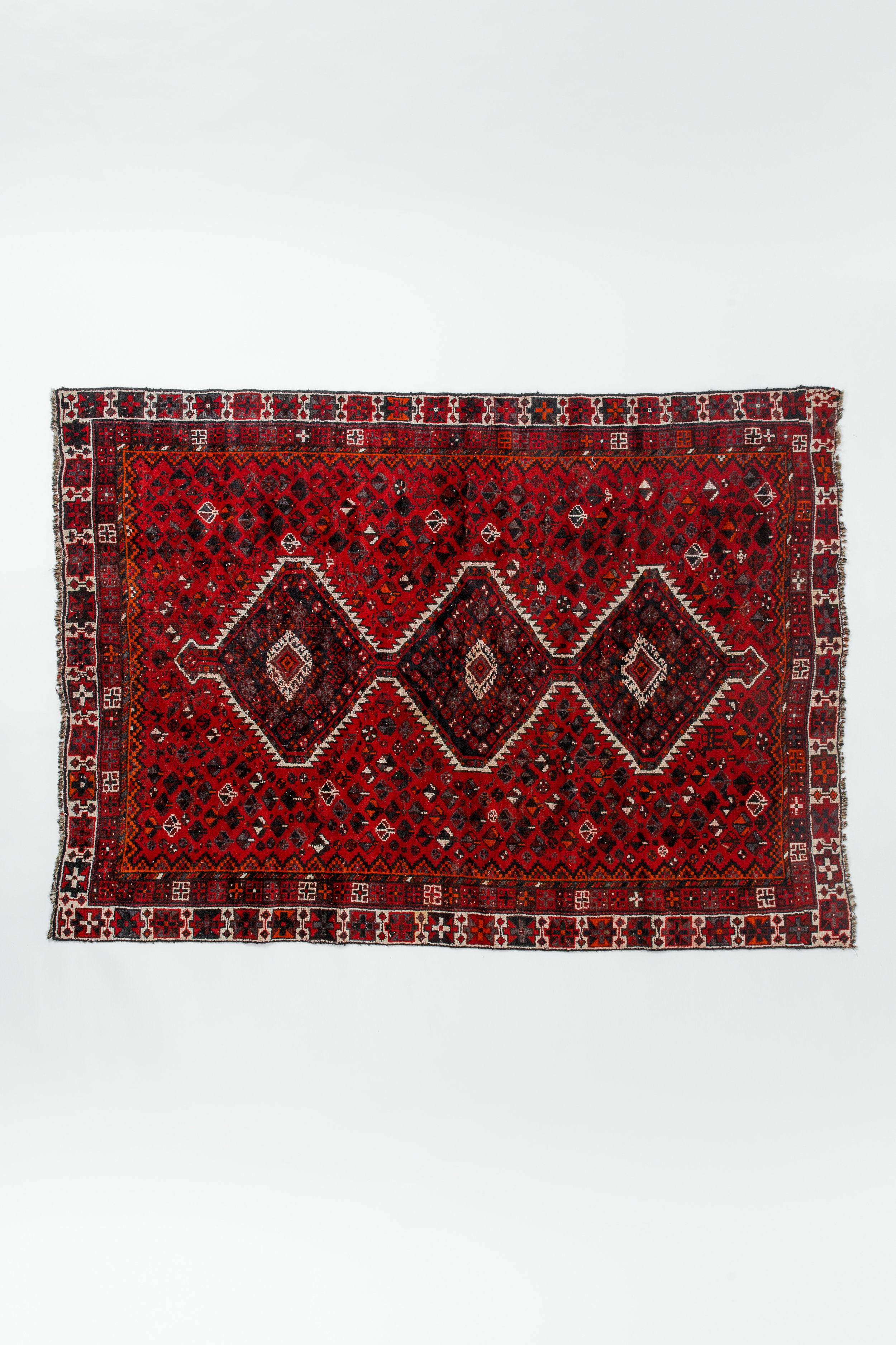 Moroccan Flowers Large Rug