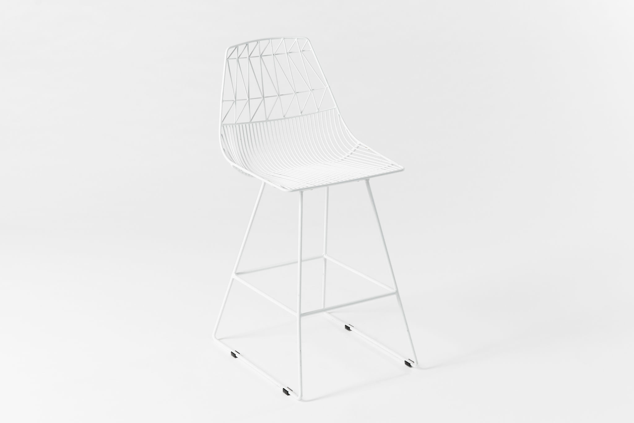 Bend Lucy Counter Stool White