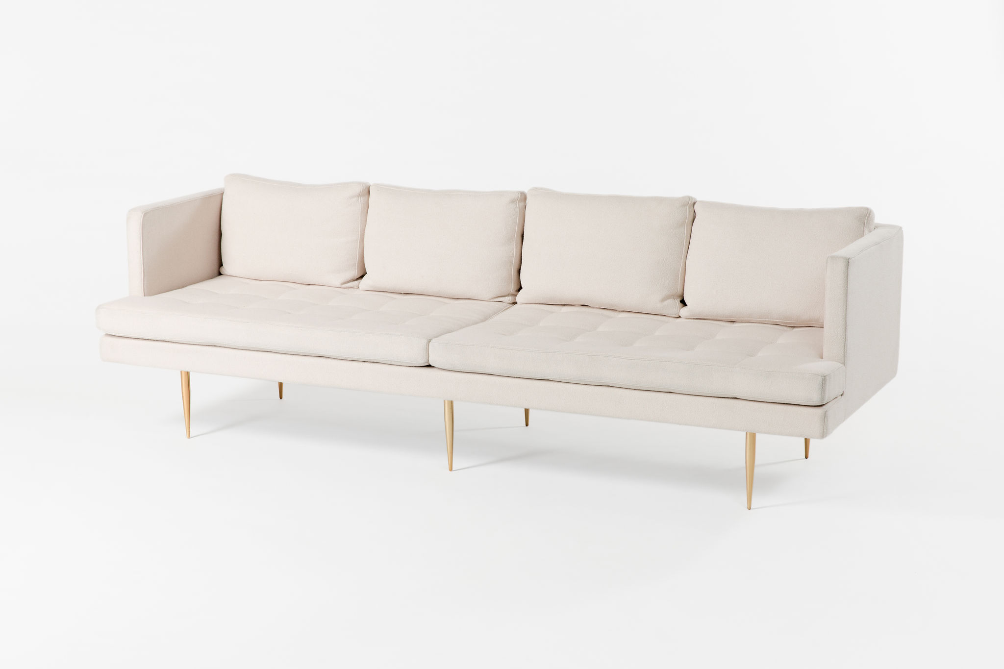 Organic Modernism Cream Four-Seater
