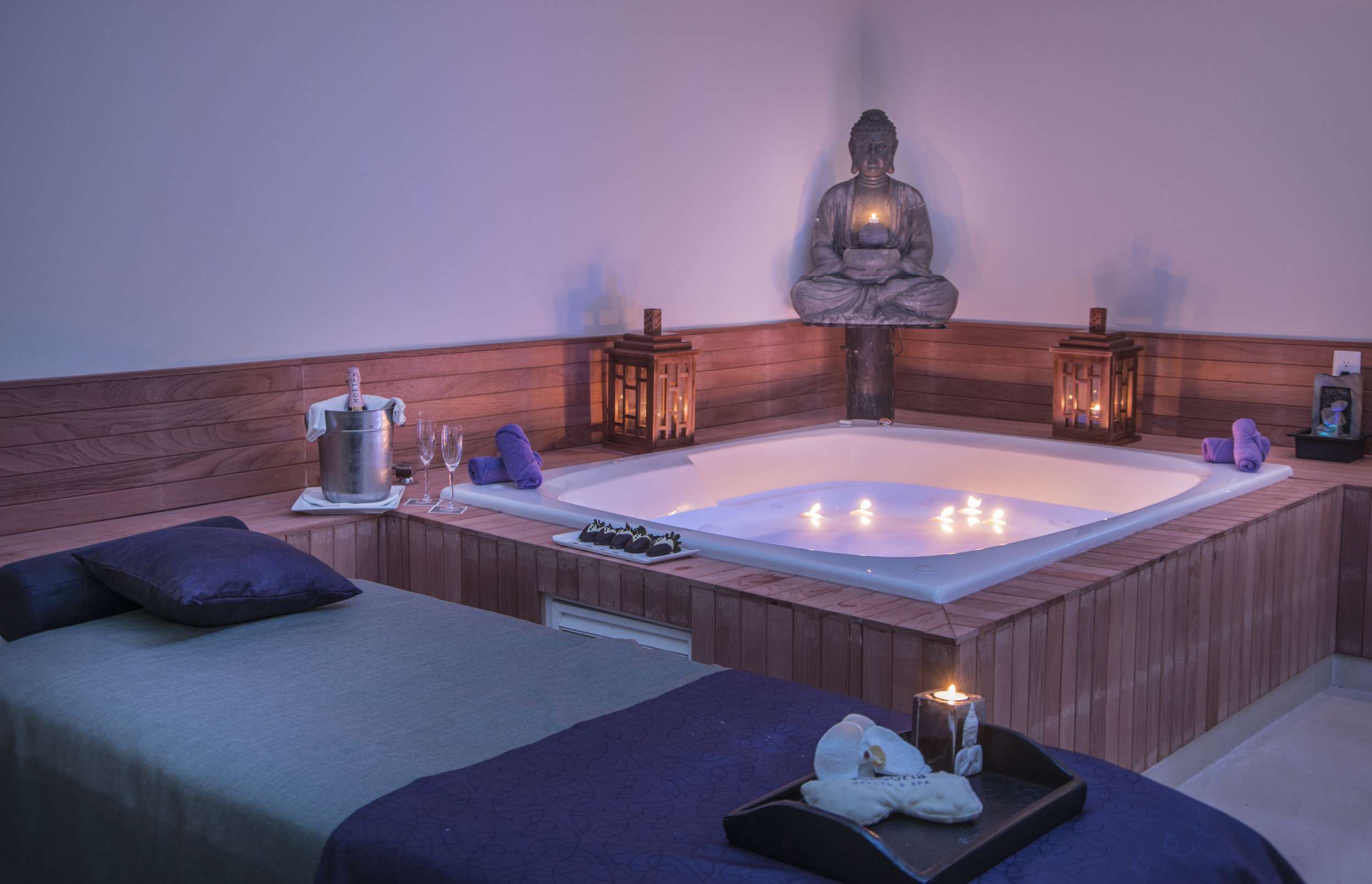 Sensoria Spa - Our full-service spa offers certified organic treatments incorporating ancient and modern techniques.