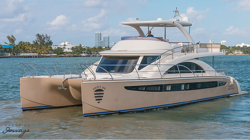 62' Catamaran - 20074 hrs $2,7506 hrs $4,000Week $24,000 + Expenses