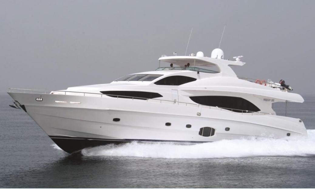 101' Majesty - 20134 hr $6,5008 hr $10,000Week $60,000 + Expenses