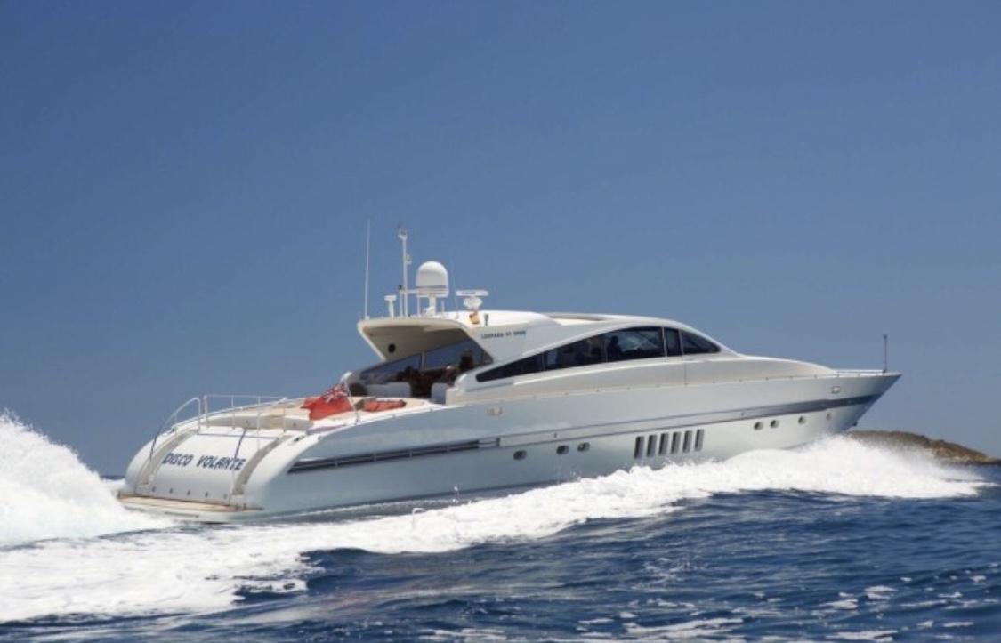 90' Leopard Disco Volante - 19988 hours €7,200 + €1200 Estimated fuel costWeek €43,200 +ExpensesMaximum Passengers: 22