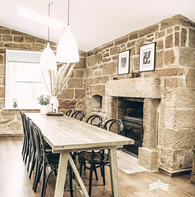 The Tasmanian Tuxedo - sandstone secrets