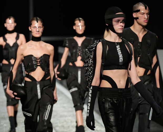 The Alexander Wang x H&M collaboration in 2014, which showcased health goth-inspired designs.