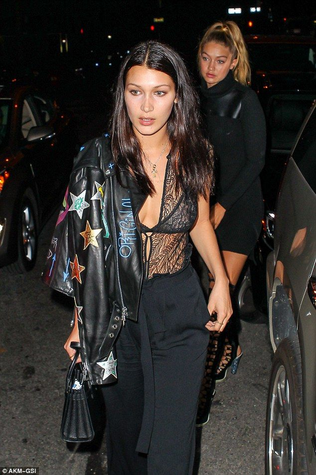 Sisters Bella and Gigi hadid kept themselves busy - despite their hectic schedules - as they headed for a night out with Kim Kardashian on Monday in New York_.jpg