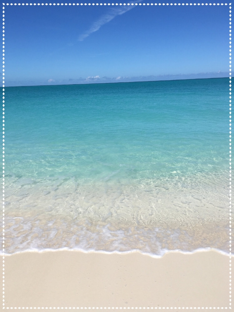 Picture taken 11/4/17 at Grace Bay – Turks and Caicos