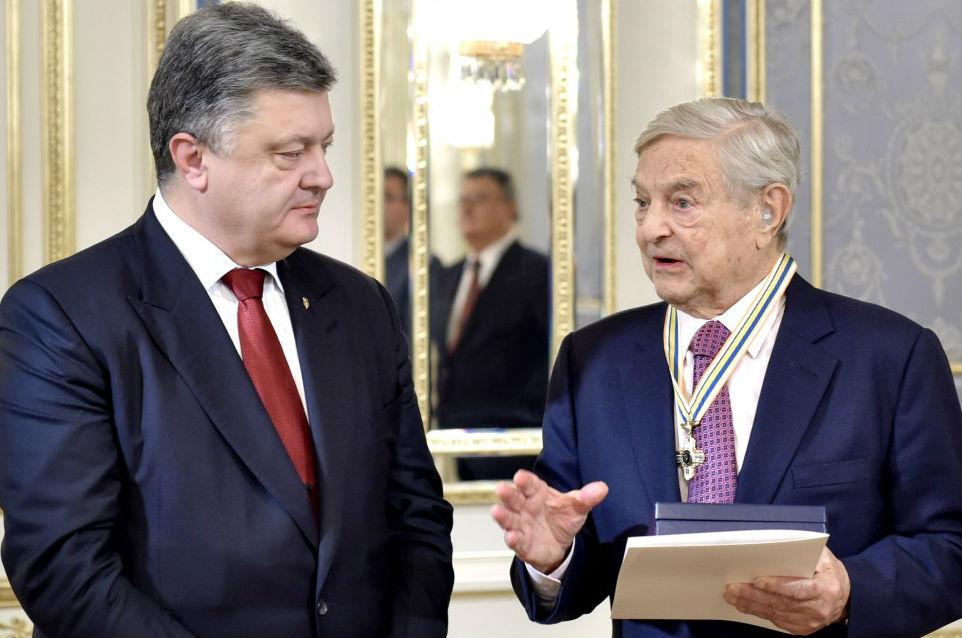 George Soros and Ukranian Pres Petro Poroshenko.jpg