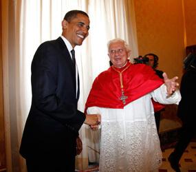 Obama with Pope Benedict XVI Jan 19th 2012.jpg