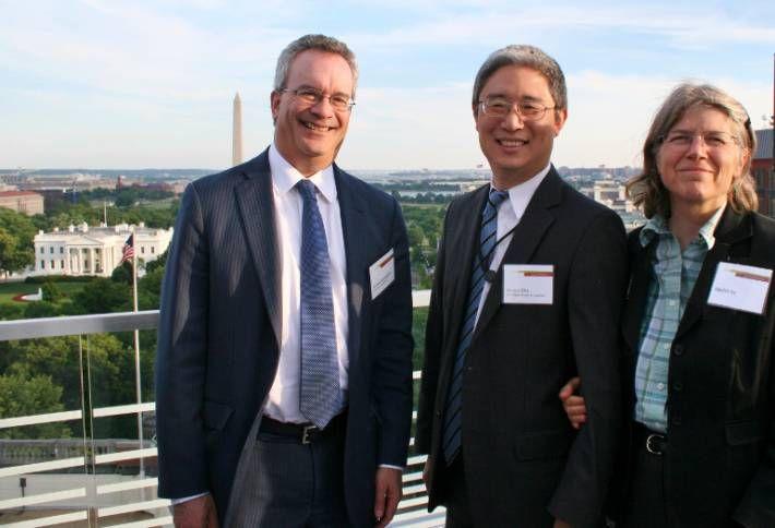 Baker McKenzie Bruce and Nellie Ohr with James Goldgeier AU.JPG