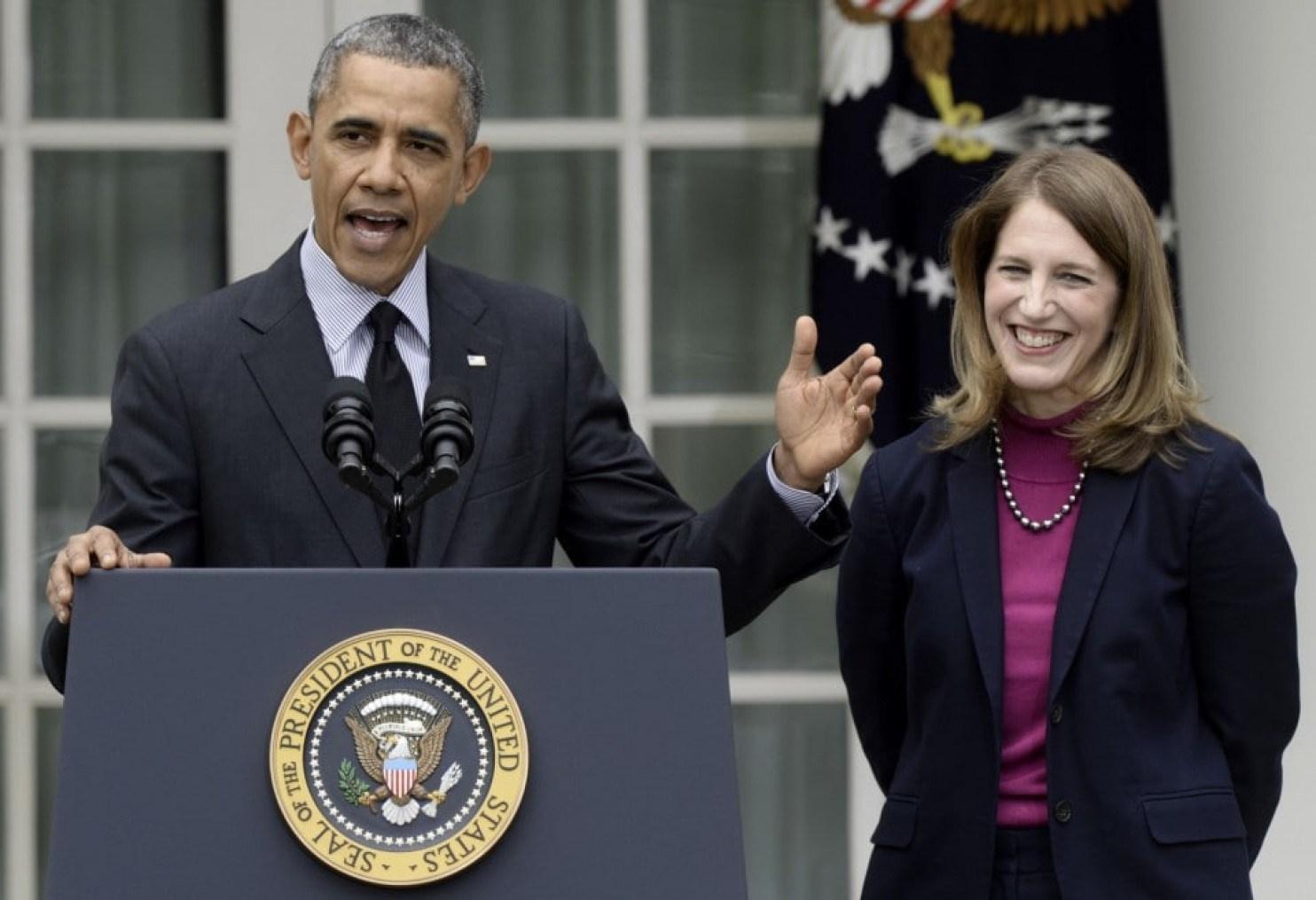 Obama cabinet and Sylvia Burwell.jpg