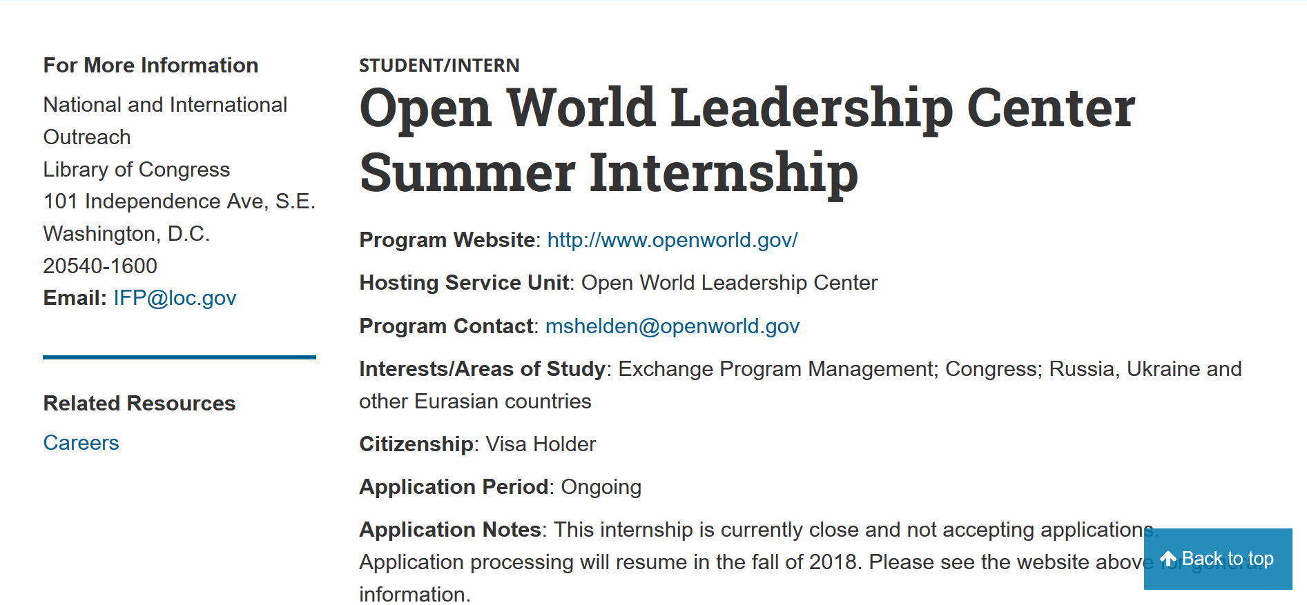 Open World Summer Internship.png